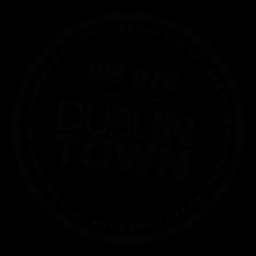 DublinTownStamp_Logo_Black