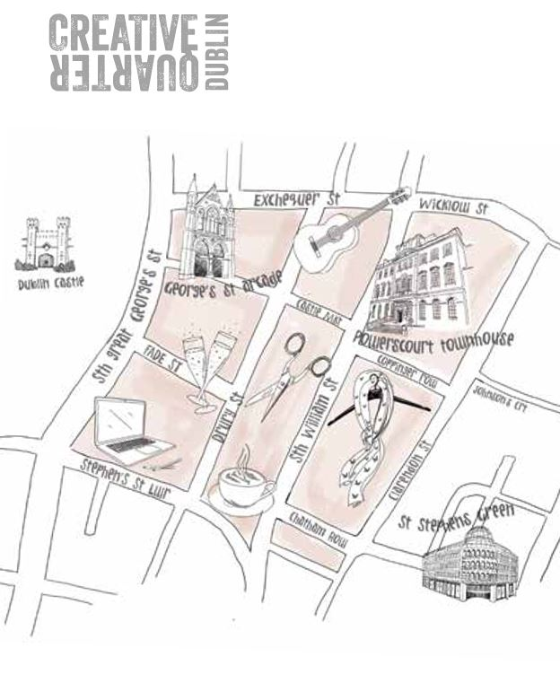 Creative Quarter map