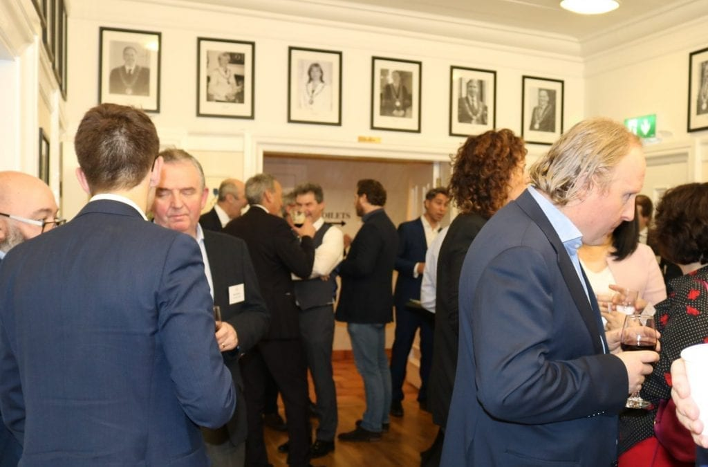 Networking Meeting Mansion House January