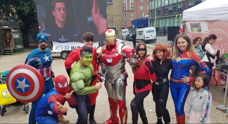 Outdoor Cinema Superheroes